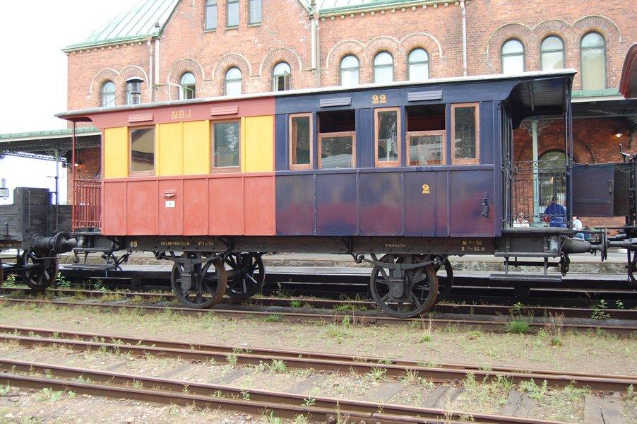 NBJ BD 22 i Nora 2006. Foto: Michael Lindgren