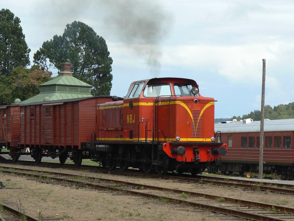 NBJ T23 i Nora 2008. Foto: Michael Lindgren