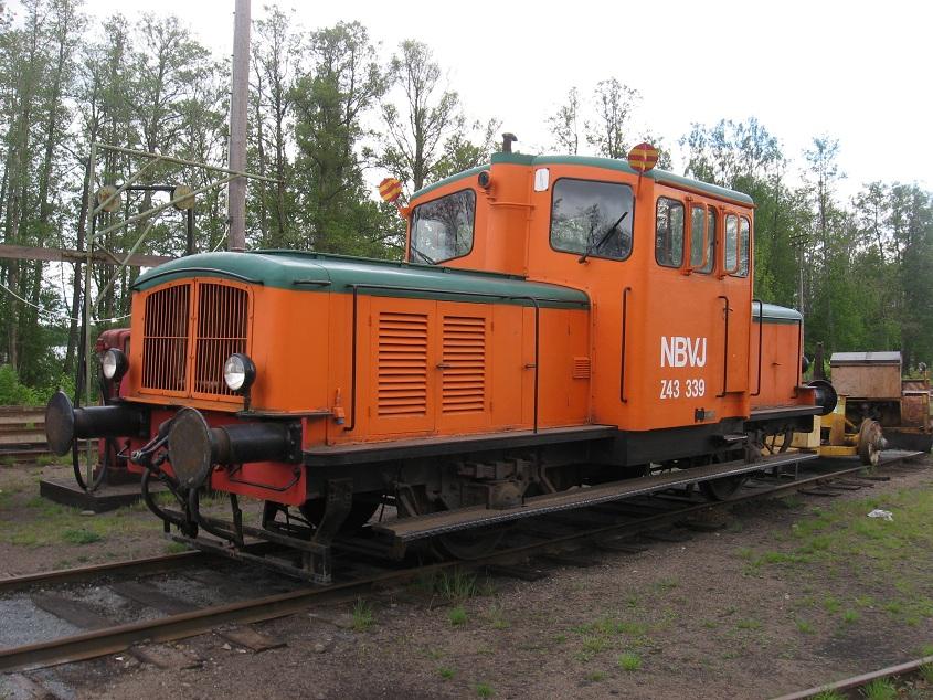 SJ Z43 339 på bangården i Nora 2011. Foto: Johan Olsson