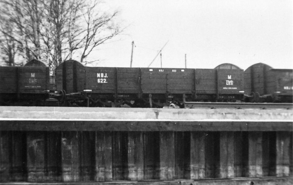 NBJ M 622 i Otterbäcken på 20-talet. Foto: NBJ-arkivet