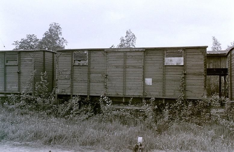 NBJ Gmh 92 avställd i Bofors 1979. Foto: Stefan Olsson