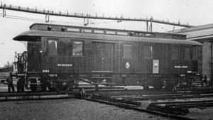 SJ DF5 2954 vid leveransen 1932. Foto: Järnvägsmuseum