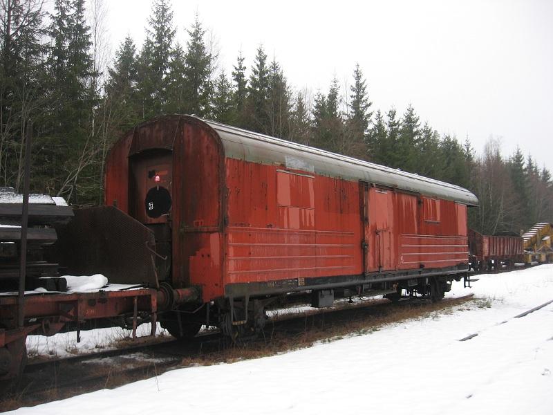 SJ F5a 55156 i Gyttorp 2011. Foto: Johan Olsson