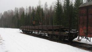 SJ Obu 97270 i Gyttorp 2011. Foto: Johan Olsson