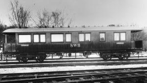 SWB Ao1 20 vid leveransen 1920. Foto: Järnvägsmuseum