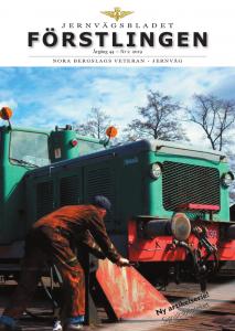 Järnvägsbladet Förstlingen nr 2 – 2019