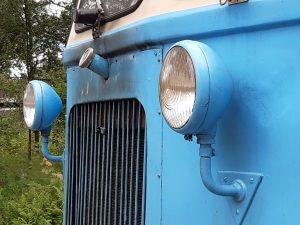 """""""Blå rälsbuss"""" i morgon fredag (5/7)."""